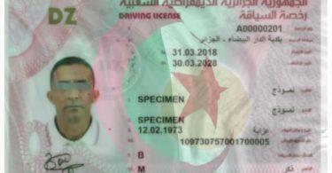 عملية توزيع رخص السياقة البيومترية تبدأ في 48 ولاية جزائرية