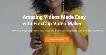 برنامج FlexClip للتعديل على الفيديوهات بمميزات احترافية
