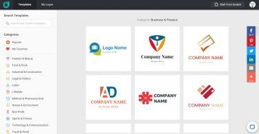 مراجعة برنامج designevo الخاص بتصميم الشعارات بطريقة سهلة وإبداعية