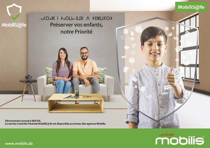 موبيليبس تطلق خدمة MobiliS@fe لحماية الأطفال وتفعيل الرقابة الأبوية