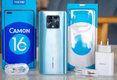 سعر ومواصفات هاتف TECNO Camon 16 Premier